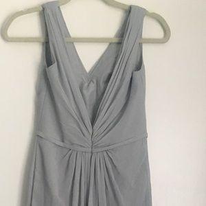 David's Bridal Dresses - Bridesmaids Dress Grey *David's Bridal* Mystic